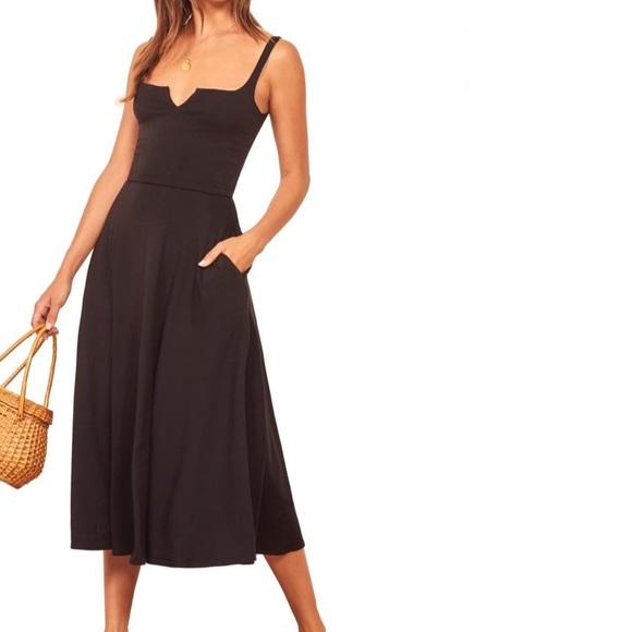 Reformation Jeans Dresses & Skirts - Reformation Jeans Zarina Notch Neck Dress S NWOT